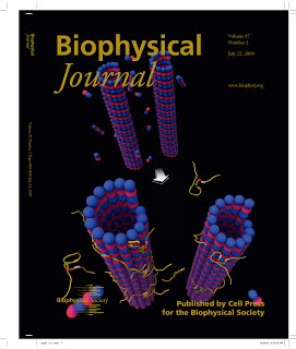 Cover of my Biophys J